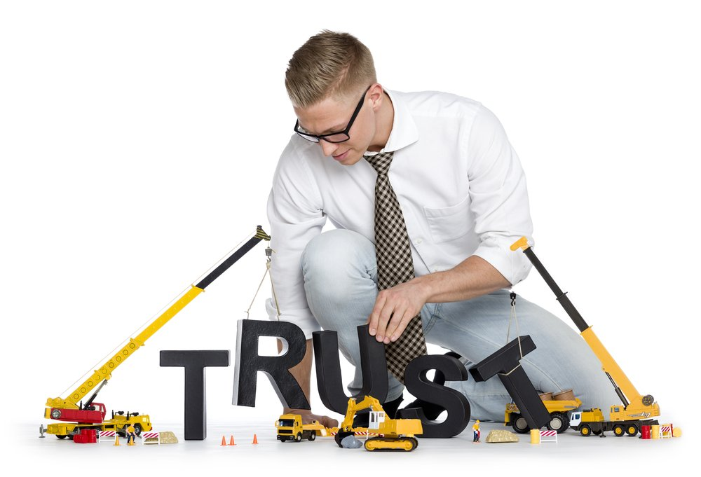 Building Business Relationships Based On Trust