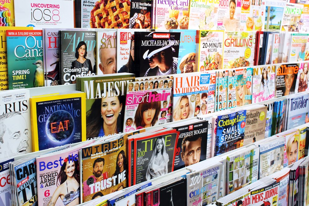 printed magazines over digital