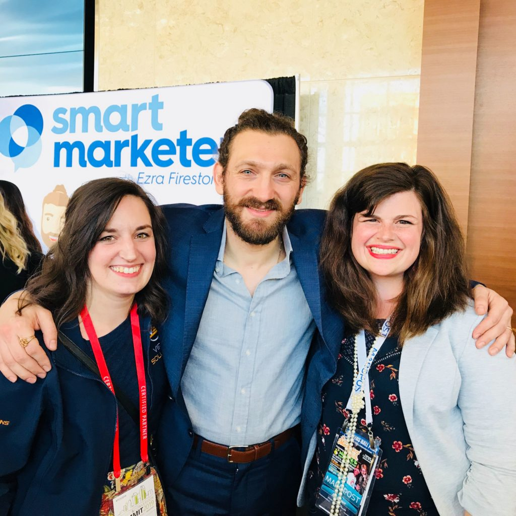 VS Team with Ezra Firestone of Smart Marketer