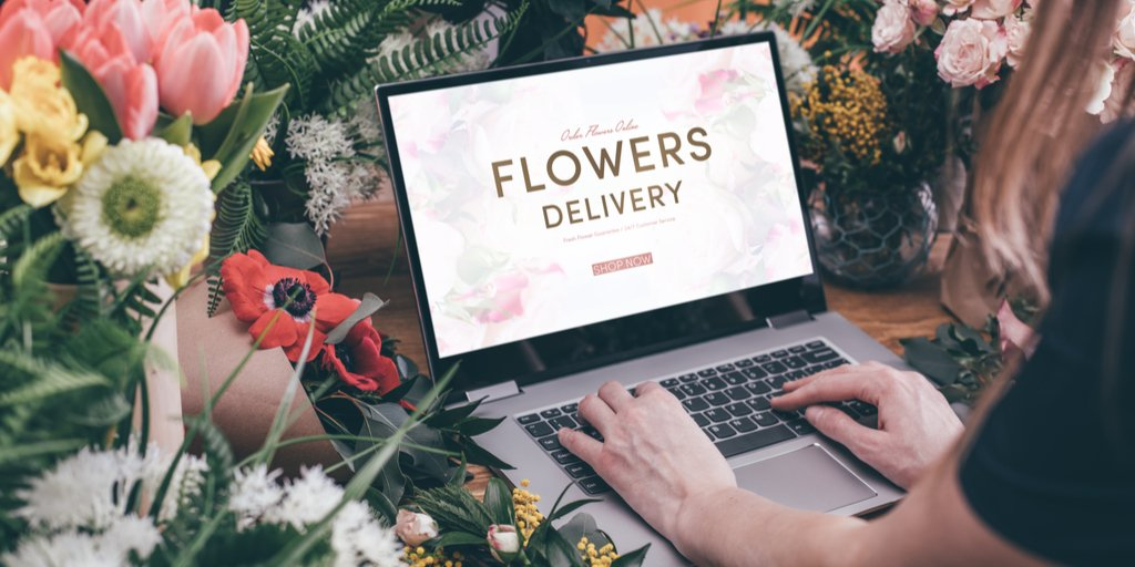Flower shop website demonstrating how attractive, user-friendly website can increase sale.