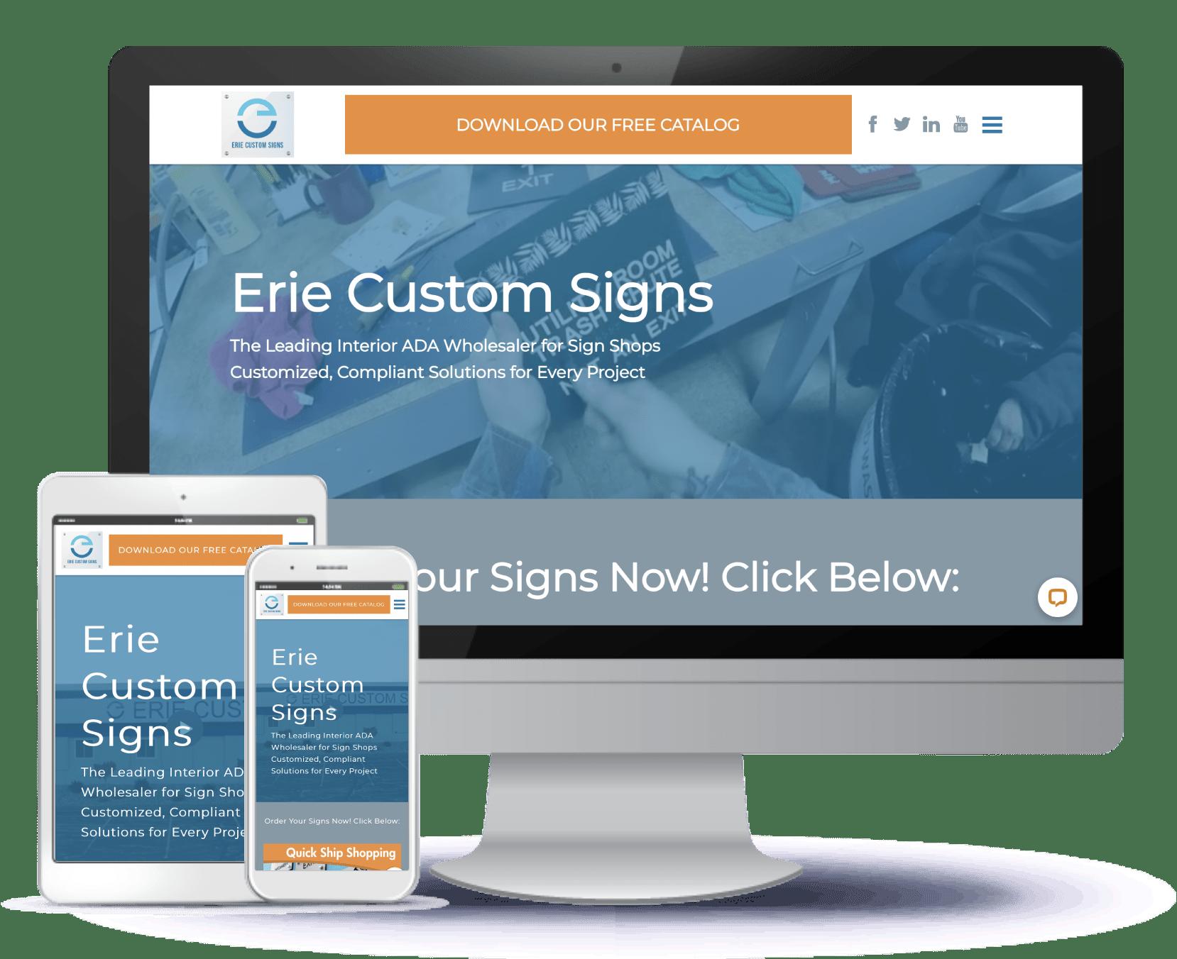 Erie Custom Signs